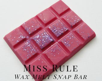 Soy Wax Melts, Miss Rule, Scented Wax Tart, Soy Wax, Home Fragrance,