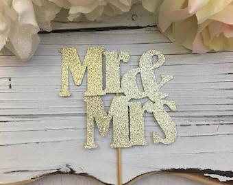 Mr. and Mrs. Cake Topper * Wedding Cake Topper * Anniversary Cake Topper * Special Occasion Cake Topper * Custom Cake Topper * Wedding Day *