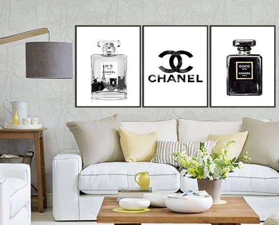 Chanel Nr5 With Eifel Turm Noir Perfume Logorhetsy: Chanel Home Decor At Home Improvement Advice