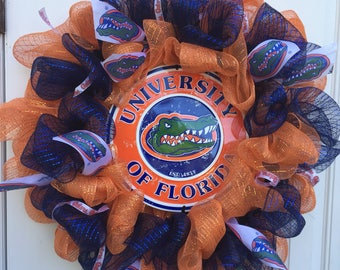 University of Florida Gators Wreath