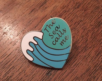 The Sea Calls Me - MOANA - hard enamel pin