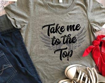 Women's Shirt / Dirt Bike Racing Shirt / Dirt Track Racing Shirt / Gift for Women / Race Car Gifts / T Shirt Women / Sprint Car Top / Race