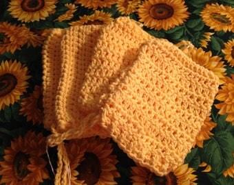 Lemon Yellow Soap Sock