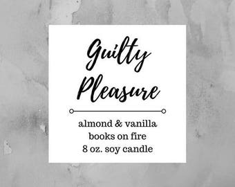 Guilty Pleasure 8 oz. Candle