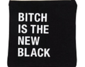 New Black Cosmetic Bag