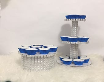 Silver Treat Stands
