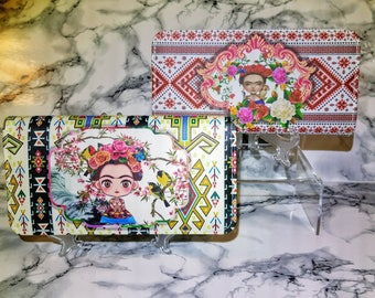 Lovely Doll -like Frida Kahlo Wallets