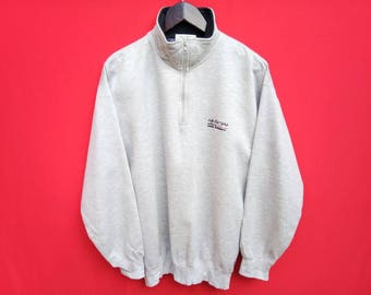 vintage Kansai Yamamoto half zipper sweatshirts large mens size