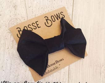 Boys bow tie, Black Bow Tie, Bow Ties Toddler, Newborn Bow Tie, Boys bowtie, Black tie, Formal Bow tie, Formal Tie, Toddler bow tie, Bowtie
