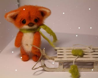 "Red Fox ""It is snowing!"""