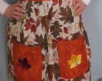 Fall Leaf Woman's Apron