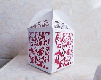 Cupcake favor box, cupcake, favor box, lasercut favor box, wedding favors, fancy party favors, wedding decor, cupcake, party gift box