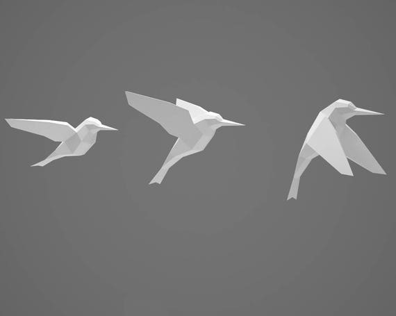 how to make paper animals and birds