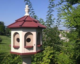 Bird House - Poly  Amish made  Gazebo Birdhouse Small