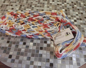 Hand Crocheted 100% Cotton Market Bag