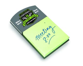 "5.375""x3.125"" Sticky Note Holder for Sublimation (top header)"