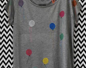 Shirt Air Balloons XL//modal organic bio Balloons