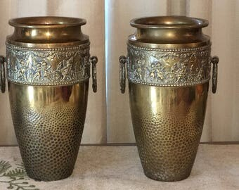 Beldray Brass Vases