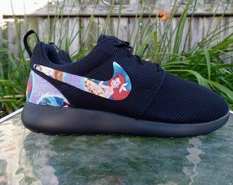 Little Mermaid Shoes - Nike Roshe One Women's