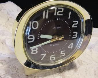 Vintage Westclox Big Ben Alarm Clock For Parts or Repair