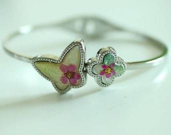 Real Flower Bracelet E