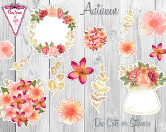 Autumn - Die Cut / Sticker Set