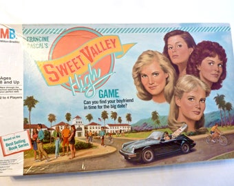 1988 Sweet Valley High Game Board Game Francine Pascal's Complete VGC Vintage