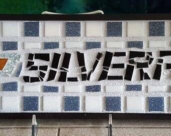 Chevy Silverado plaque/tray