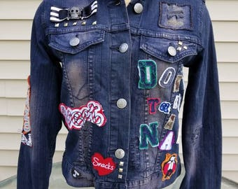Don't Take a Nap denim jean jacket