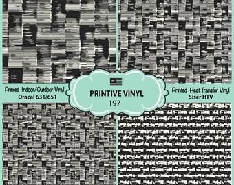 Abstract irregular striped block Printed Pattern Vinyl/Siser HTV/ Oracal/ Indoor Vinyl/ Outdoor Vinyl/ Heat Transfer Vinyl- 197