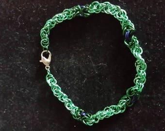 Byzantine twist bracelet