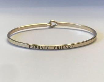 Indpired bangle bracelet (for ever friend )
