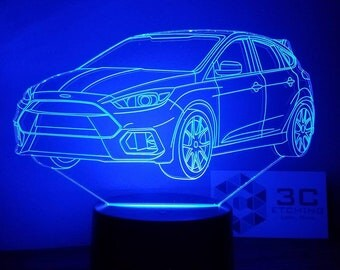 Ford Focus RS LED Display
