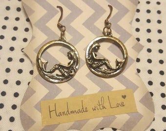 Mermaid & Anchor Earrings
