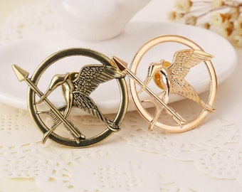 The Hunger Games Brooch Movie Inspired Mockingjay Bird Brooch Badge Pin Cosplay