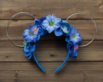Cinderella Inspired Floral Ears