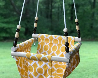 Baby swing, cloth swing, baby swing, outdoor swing, indoor swing, nursery swing