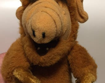 Alf finger hand puppet