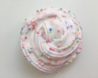 Fruity pebbles slime / rainbow slime / floam / 4oz slime / funfetti slime