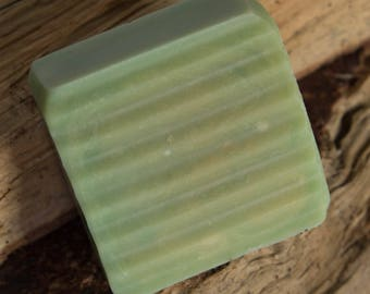 Green Apple Luxury Goat Milk Soap Guest Bar