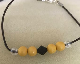 Bumble Bee Bracelet........Inspired by The Transformer Movie