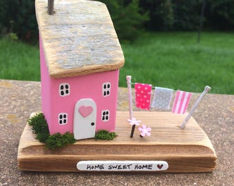 Miniature House/Cottage, Handmade, Collectable, Gift, Unique.