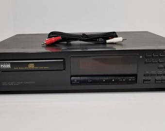 Sony CDP-315 Compact Disc High Density CD Player 5 Disc Changer 1994