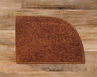 Rogue Front Pocket Wallet in Moosehide, Men's Leather Wallet, Made in USA Wallet, Men's Gift, Leather Wallet, Gift for Guys, Best Wallet