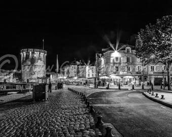 Cafe Seffe, La Rochelle, La Rochelle Print, La Rochelle Wall Art, La Rochelle, Travel Photography, Architecture