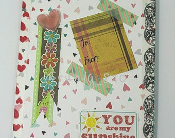 BTS J-Hope-inspired Friendship Card