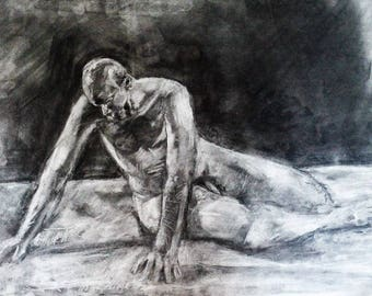 Figure Study ORIGINAL DRAWING