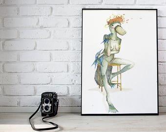 P L A T Y P U S • art print [12x18]