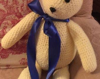 Cuddly Handmade Teddy Bear