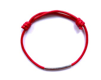 Red String Bracelet Women Minimalist Bracelet Rope Bracelet Protection Bracelet Kabbalah Bracelet Red Bracelet Friendship Bracelet Thin Rope